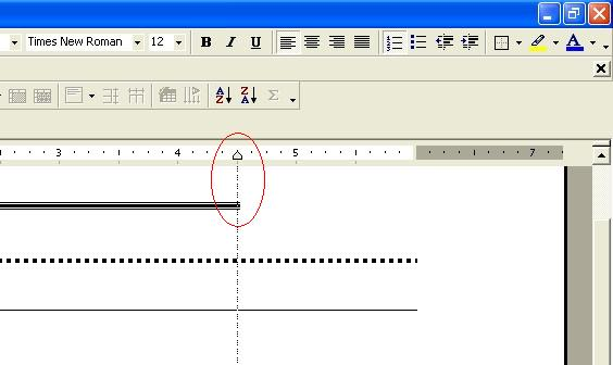 microsoft word how to create long dash